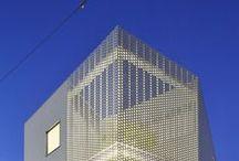 Perforated Facades / Elewacje perforowane / Elewacje ażurowe
