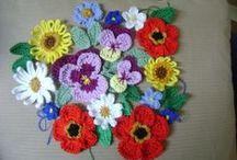Crochet - Made/designed by me / Nieuwe hobby: een selectie van door mij gemaakt/ontworpen haakwerk