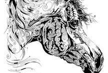 Zentangle / graphic art