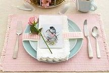 HOLIDAYS AND TABLE SETTINGS / Thank you for following me