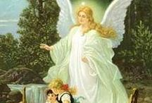 Angels / guardian angels, angels in art