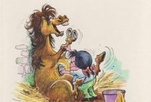 Horses - Thelwell / Thelwell and his ponies