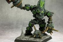Miniatures That Make You Go Hmmm? / Finding interesting fantasy, sci-fi, steampunk and mecha miniatures for inspiration