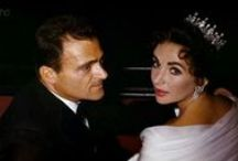"""Third time was the charm Elizabeth Taylor and Fim Producer Mike Todd / Mike Todd was a jewish man she described as the other love of her life, he may have been 23 years older than her but the love was there when they met. Although this marriage lasted only a little over one year, Todd and Taylor had a daughter, Elizabeth (""""Liza""""), born only six months after their wedding. Though at times it was tumultuous, it would never reach grounds of divorce because Mike was tragically killed in a plane crash Grants, New Mexico."""