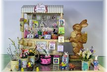 Dollhouse Easter / Ornaments, food etc