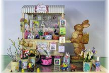 Dollhouse Easter / Ornaments, food etc