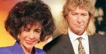 Elizabeth Taylor and Construction worker Larry Fortensky