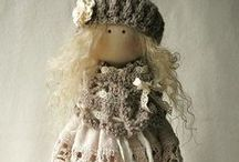 TEXTILE DOLLS / Thank you for following me