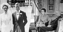 Remember when Wallis Simpson & Edward VIII Windsor The flamboyant Duke and Duchess of Windsor / Edward was the heir to the British throne and Wallis was the twice divorced American, he then abdicated the throne feeling he couldn't reign without the woman he loved so Wallis divorced her 2nd husband Ernest. So they were styled the duke and duchess of Windsor, and lived in exile in Bois de Boulogne in Paris until both their deaths his in 1972 hers in 1986. Though they still did duties on their own. Their romance proved Love conquers all. She died from dementia and he died from larnyx cancer.