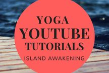 Island Awakening Yoga Tutorials YouTube / Short 15 minute or less YouTube Yoga tutorials including yoga for beginners, yoga morning practices, yoga inspirations, and yoga poses.