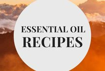 Essential Oil Recipes / Essential oil recipes for diffusing, home cleaning, and personal perfume