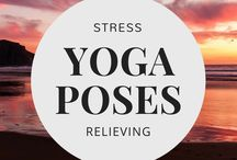 Stress Relieving Yoga Poses / Stress relieving yoga poses, sequences, yoga flows, and tips for relieving stress