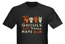 Halloween Fun Casual Clothing / Fun Casual Halloween Clothing and Other Items / by Halloween Decor