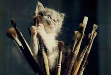 Cats! / feline / by Mayra Alejandra