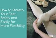 Ballet Tips @ ballethub.com / Ballet tips that help improve your technique, flexibility, and ballet awesomeness.