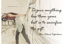 Quotes for Ballet / Inspirational quotes for dancers