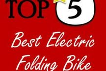 Best Electric Folding Bike / The best electric folding bicycles are the ones that are the most comfortable, smooth and have a long battery life! - http://MyTop5Galaxy.com