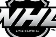 NHL | Banners • Patches • Cartoon Mascots