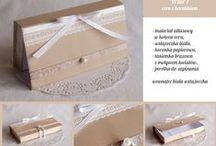 pudełka na pieniądze dla gości / oryginalny zastępca zwykłej białej koperty, wręczanej przy okazjach takich jak śluby, chrzciny, urodziny, etc.