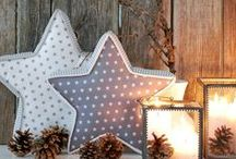 new year star / Christmas decorations