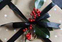 Quirky ways to wrap this Christmas / One of my ALL TIME favourite activities is wrapping. Yes I know that makes me a complete nerd but you know what, I don't care! So I thought I might share a couple of fairly cool & unique ways to wrap gifts this Christmas that don't cost a whole lot.