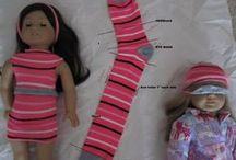 Dolls-DYI Shoes-Clothes-Tips / Making shoes and clothes for dolls including tips