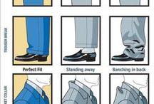 Fashion Tips-Men / Helpful hints for men