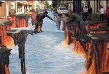 Art-Street-Sculptures / Street art including sculptures