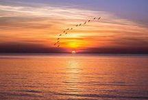 Les couchers de soleil / Un moment de pur bonheur et de poésie
