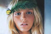 blonde hair / Fashion and hairstyles