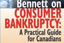 Bankruptcy Canadian Style / How to stay out of, break the cycle of, and recover from Bankruptcy.  This is the new book BENNETT ON BANKRUPTCY: A Practical Guide For Canadians