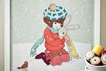 Belle & Boo / Downloadable PDF patterns in: http://belleandboo.com/181-cross-stitch-patterns