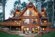 Log Home Ideas / Log Home Ideas / by Tim Nielsen photography