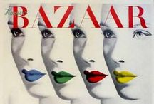 Bazaar / Collection of Vintage Harpers Bazaar covers mainly from the Vreeland era.
