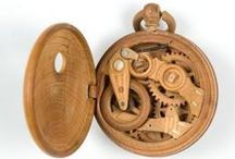 Made from wood / Interesting and unusual objects made from wood