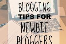 BLOGGING TIPS / Blogging isn't easy! Here's a selection of helpful posts with blogging tips and advice.