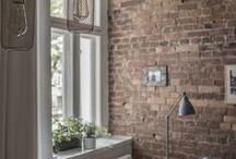 Mieszkanie | Wrocław | Kamienica / Projekt wyjątkowej kawalerki we wrocławskiej kamienicy. Architektura | Interior | Design | Wnętrze | Wystój | Meble | Cegła | Styl Skandynawski