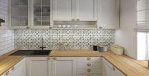 Kuchnia | Kielce / Projekt klasycznej kuchni. Architektura | Interior | Design | Wnętrze | Wystój | Meble | Styl Prowansalski | Kitchen