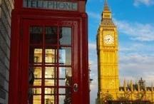 England / London / by Tahnia Roberts