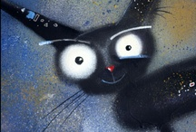 Art : Kitty Cats / ~ It's all about the cats ~