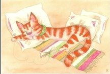 Art : Kitty Cats-archive 2 / This is  an ARCHIVE of OLDER Cat Art pins