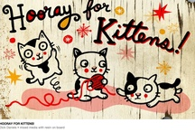 Art : Kitty Cats-archive3 / This is  an ARCHIVE of OLDER Cat Art pins