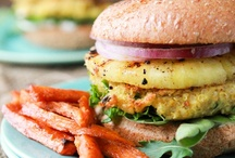 Food - Burgers Patties Sandwiches - Vegetarian / by My Soul