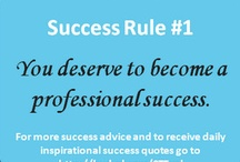 """Bud's Success Rules / These rules come from my book """"42 Rules to Jumpstart Your Professional Success"""" now in its second edition.  Hope you find them helpful in your life and career success journey."""