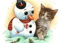 ☆ Christmas   Snowmen