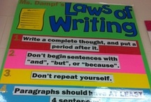 5th Grade Writing- Rules, Organizers, Process, Structure  / by Courtney Line