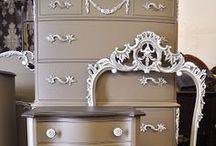 PAINTED FURNITURE / by Paulla Walker  LA BELLE