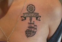 Ship tattoo- ideas