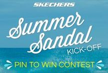 SKECHERS Pin to Win Contest: Summer Sandal Kick-Off!! / Skechers to love