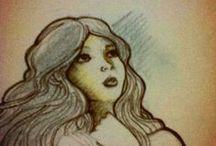 Ary Arenas Bocetos